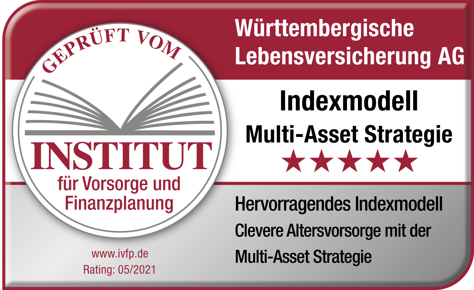 Testsiegel Multi-Asset-Strategie